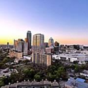 City Of Austin Texas Poster