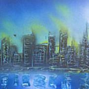 City Spray II Poster