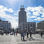 City Square In Stockholm Poster