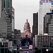 Cityscape 28 B Austin Poster
