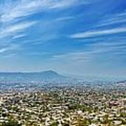 Cityscape Of Tuxtla Chiapas Poster