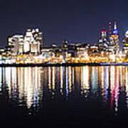 Cityscape - Philadelphia Poster