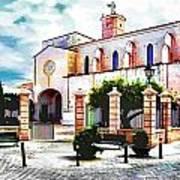 Ciutadella Church Poster
