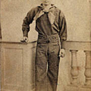 Civil War. A Negro Sailor, Charles Poster