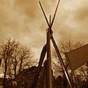 Civil War Camp Poster