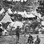 Civil War Hospital, 1860s Poster