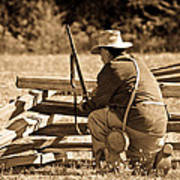 Civil War Soldier  Poster