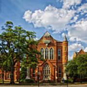 Clark Hall - University Of Alabama Poster
