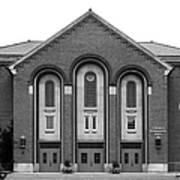 Clarke University Donaghoe Hall Theater Poster by University Icons