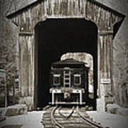 Clarks Trading Post Train Poster