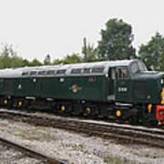Class 40 Diesel Poster