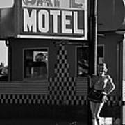 Classic 50s Motel Cafe Poster