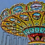 Classic Amusement Swing Poster