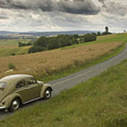 Classic Beetle 12 Poster
