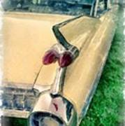 Classic Caddy Fins Poster