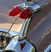 Classic 1960's Cadillac Fin Poster