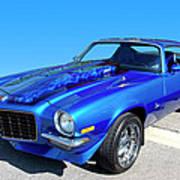 Classic Car 1973 Camaro 1 Poster