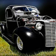 Classic Chevy Truck Poster