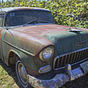 Classic Chevy With Rust Poster