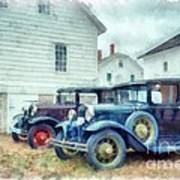 Classic Ford Model A Cars Poster