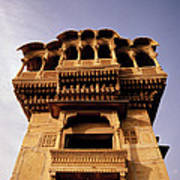 A Rajasthan Haveli Poster