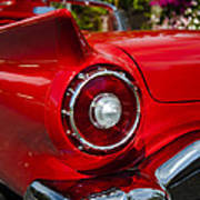 1957 Ford Thunderbird Classic Car  Poster