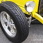 Classic Tire Tread Poster