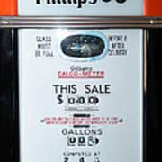 Classic Vintage Gilbarco Phillips 66 Gas Pump Dsc02751 Poster