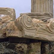 Classical Ruins Poster