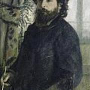 Claude Monet Self-portrait Poster