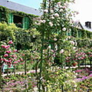 Claude Monets House - Giverney Poster