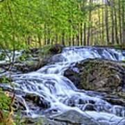 Clay Creek Falls Poster by Bob Jackson