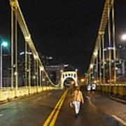 Clemente Bridge Stragglers Poster