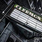 Clermont Hotel Poster