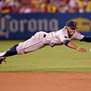 Cleveland Indians V Los Angeles Angels Poster