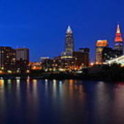 Cleveland Panorama Poster