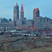 Clevelands Urban Side Poster