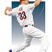 Cliff Lee Poster