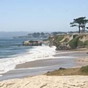 Santa Cruz Cliffline  Poster