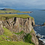 Cliffs Along The Rugged North Coast Poster