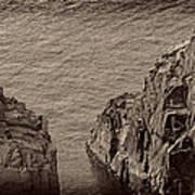 Cliffs At Bonavista Poster