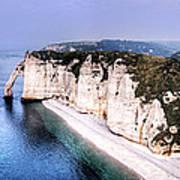 Cliffs Of Etretat 1 Poster