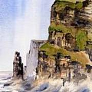 Clare   The Cliffs Of Moher   Poster