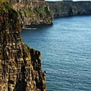 Cliffs Of Moher Clare Ireland Poster