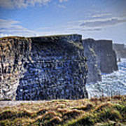 Cliffs Of Moher - Late Afternoon Poster
