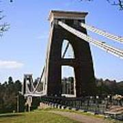 Clifton Suspension Bridge Bristol Poster
