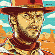 Clint Eastwood Pop Art Poster