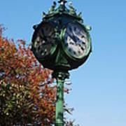 Clock Poster