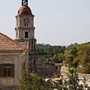Clock Tower - Rhodos City - Roloi Poster
