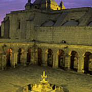 Cloisters At Sunset Arequipa Peru Poster